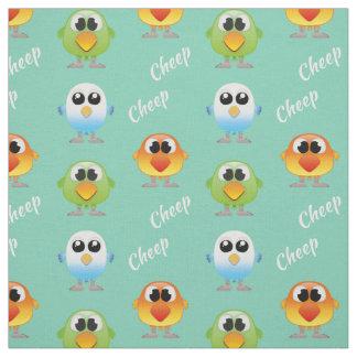 Cheepcheep-Vögel für Kleinkinder Stoff