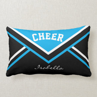 Cheerleader-Ausstattung in Baby-Blau 2 Lendenkissen