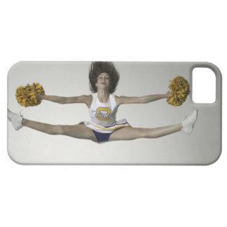 Cheerleader, die Spalten in der mittleren Luft tut Barely There iPhone 5 Hülle