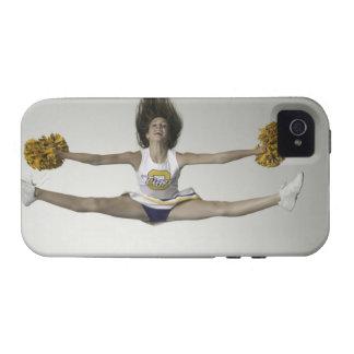 Cheerleader, die Spalten in der mittleren Luft tut Case-Mate iPhone 4 Hüllen