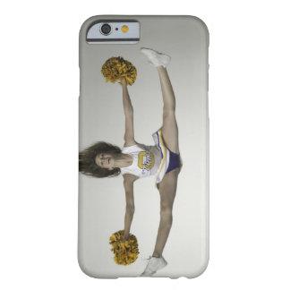 Cheerleader, die Spalten in der mittleren Luft tut Barely There iPhone 6 Hülle