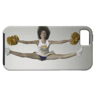 Cheerleader, die Spalten in der mittleren Luft tut iPhone 5 Schutzhülle