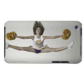 Cheerleader, die Spalten in der mittleren Luft tut iPod Case-Mate Hülle