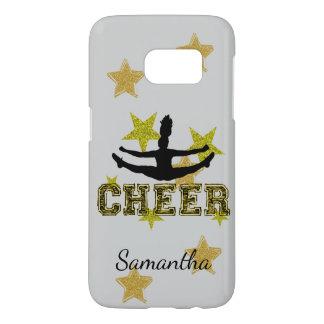Cheerleader personalisiertes Samsung 7 rufen Fall