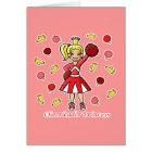 Cheerleader-Prinzessin Karte