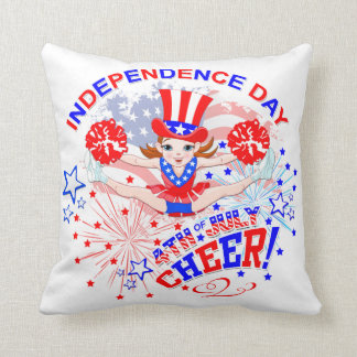 Cheerleader, Unabhängigkeitstags am 4. Juli Kissen