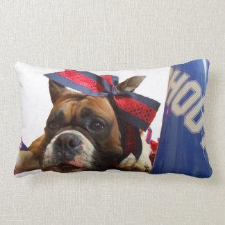 Cheerleaderboxerhund Lendenkissen