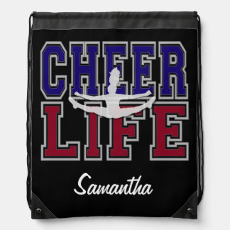 Cheerleadergurt-Sackrucksack Turnbeutel