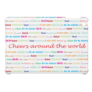 Cheers_Around das World_multi-language iPad Mini Hülle