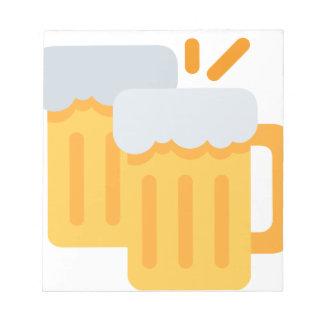 Cheers Emoji Notizblock