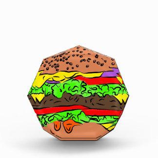 Cheeseburger Acryl Auszeichnung