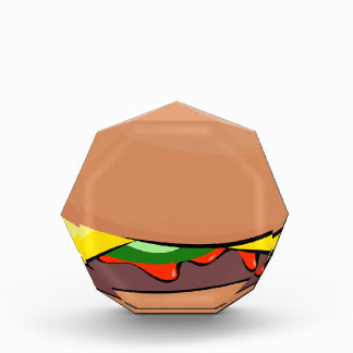 Cheeseburger-Cartoon Auszeichnung