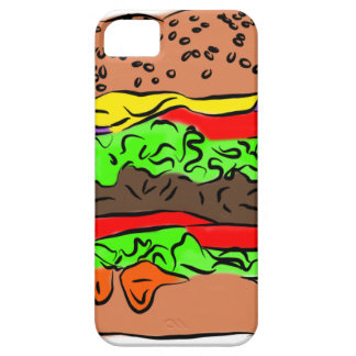 Cheeseburger Etui Fürs iPhone 5