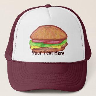 Cheeseburger-Hut Truckerkappe