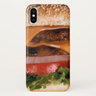 Cheeseburger iPhone X Hülle