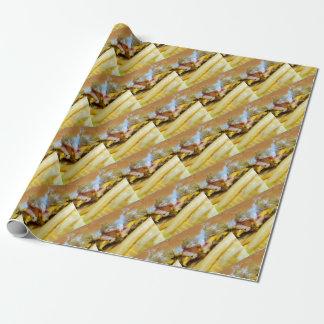 Cheeseburger und Fischrogen Geschenkpapier
