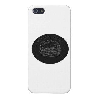 Cheeseburger-Zeichnen iPhone 5 Schutzhüllen
