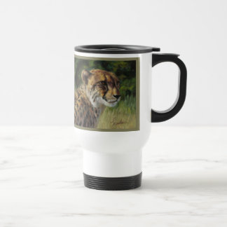 Cheetah-Pendler-Reise-Tasse Reisebecher