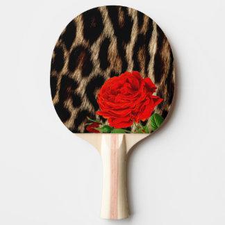 CHEETAH und ROTE ROSE Tischtennis Schläger