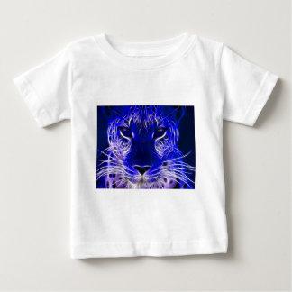 Cheetahblau-Fraktal Design Baby T-shirt
