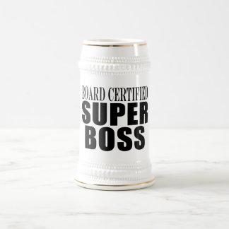 Chef-Büro-Partys: Brett zugelassener Superchef Teetassen