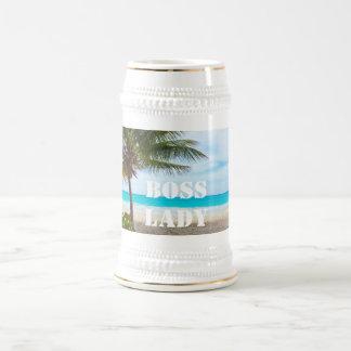 Chef-Dame Beer Stein Mug Kaffeetasse
