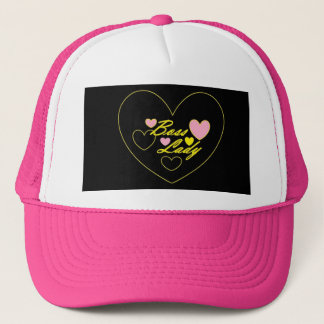 Chef-Dame Hearts Hat Truckerkappe