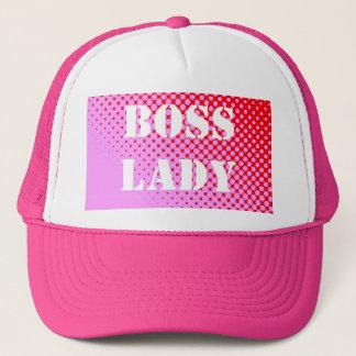 Chef-Dame Pink Hat Truckerkappe