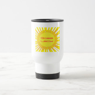 Chef-Dame Sunshine Sparkle Travel Mug Edelstahl Thermotasse