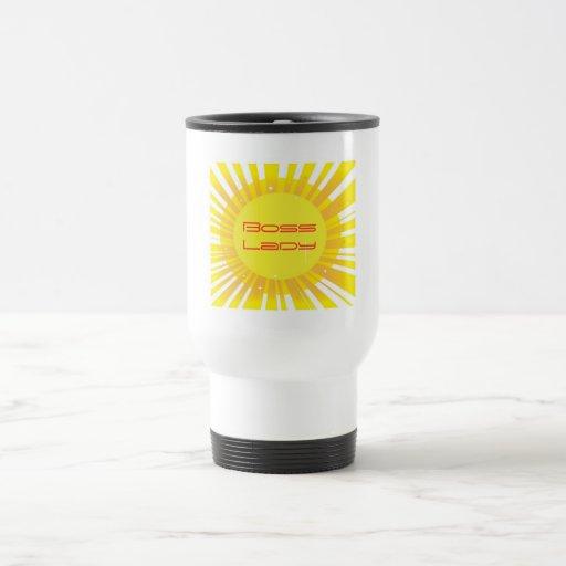 Chef-Dame Sunshine Sparkle Travel Mug Kaffeetasse
