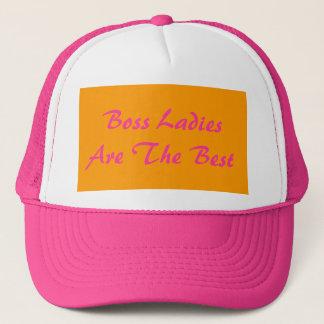 Chef-Damen sind der beste Fernlastfahrer-Hut Truckerkappe