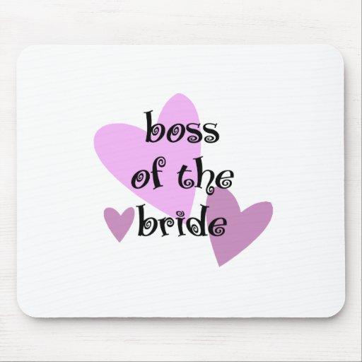 Chef der Braut Mousepads