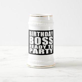 Chef-Geburtstage: Geburtstags-Chef bereit zum