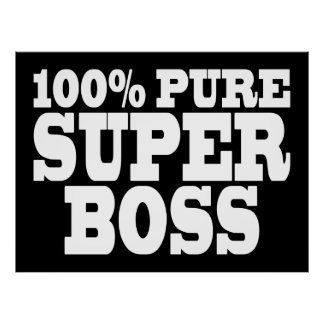 Chef-Geburtstags-Partys: 100% reiner Superchef Plakatdrucke