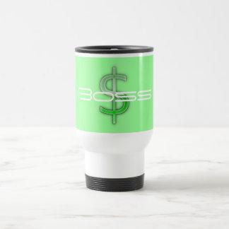 Chef-Geld-Symbol-Reise-Tasse