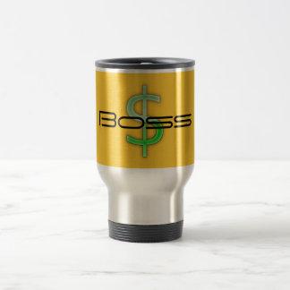 Chef-Geld-Symbol-Reise-Tasse Edelstahl Thermotasse