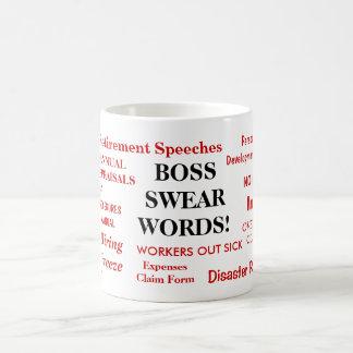 Chef-Geschenk - lustigste unhöflichste Chef-Tasse Tasse