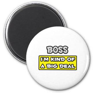 Chef. Ich bin ein bisschen eine große Sache Magnete