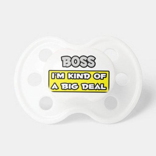Chef. Ich bin ein bisschen eine große Sache Baby Schnuller