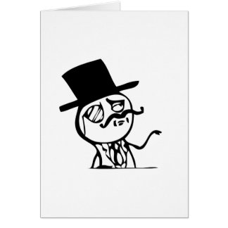 Chef meme grußkarte