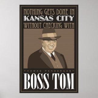 Chef Tom Plakatdrucke