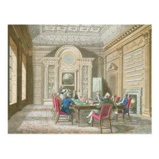 Chefetage der Admiralität, 1808 Postkarte