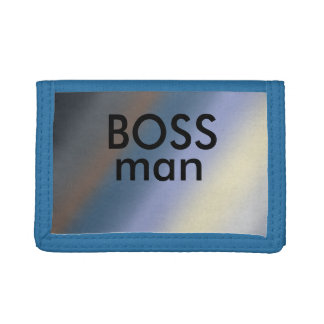 Chefmann Silber/stehlen blaue dreifachgefaltete