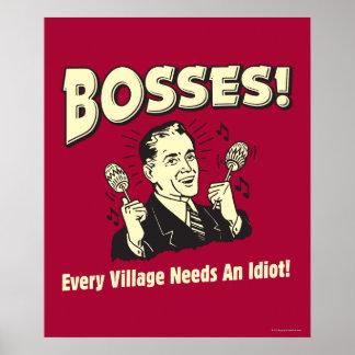 Chefs: Jedes Dorf benötigt einen Idioten Poster