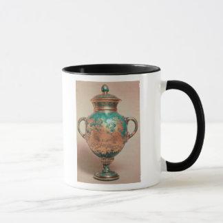 Chelsea-Vase und -deckel mit Vergoldung Tasse