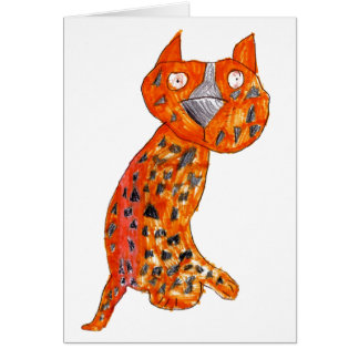 Chelsy Gepard • Carly Bowerman, altern 6 - Karte
