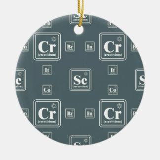 Chemie des Geschäfts Keramik Ornament