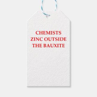 Chemie Geschenkanhänger
