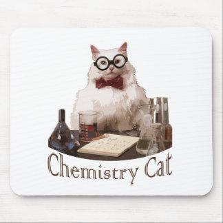 Chemie-Katze (von memes 9gag reddit) Mauspads