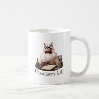 Chemie-Katze (von memes 9gag reddit) Kaffeetasse